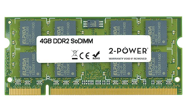 Satellite A500-04T00D 4GB DDR2 800MHz SoDIMM