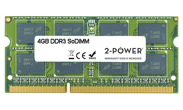 Satellite C650-ST6N02 4GB DDR3 1066MHz SoDIMM