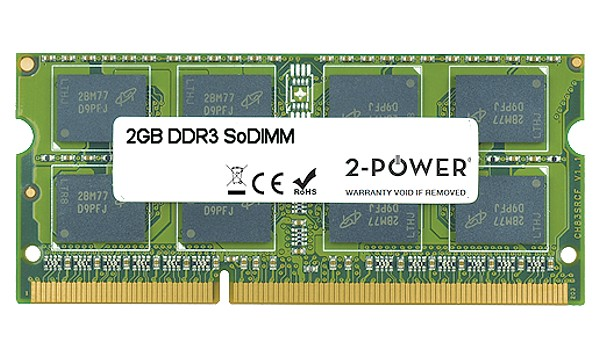 TravelMate 5760-2314G75Mnsk 2GB MultiSpeed 1066/1333/1600 MHz SoDIMM
