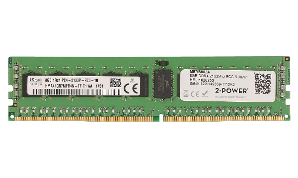 PowerEdge M830 8GB DDR4 2133MHz ECC RDIMM