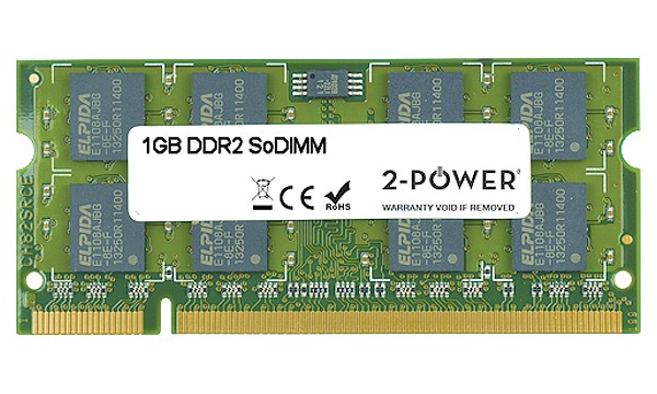 Satellite Pro A300-1KR 1GB DDR2 800MHz SoDIMM