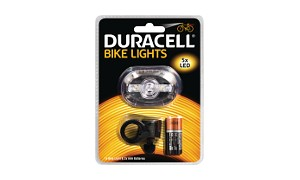 Duracell 5 LED  Front Bicycle Light