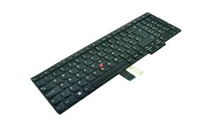 04Y2455 Keyboard Non-Backlit UK English