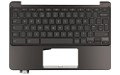 90NX00Y3-R30280 Upper Cover and UK Keyboard Black